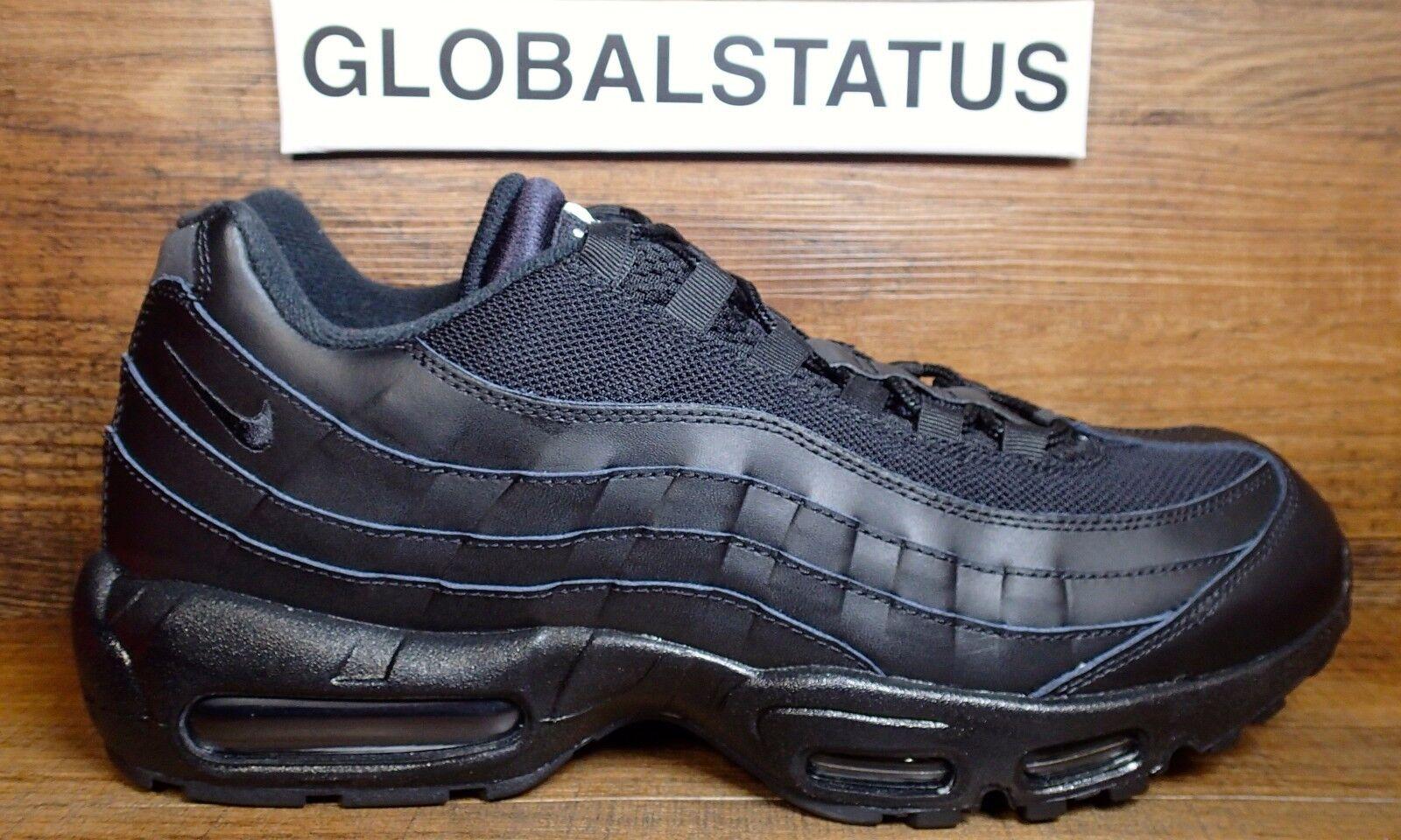 Nike air max 95 / id hiroshi fujiwara parker scarpe nere 865627 991 dimensioni