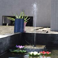 9v 1.8w Solar-powered Pump Submersible Water Pump Fountain Pond Lights Outdoor on sale