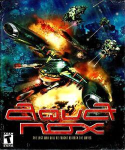 AquaNox Aqua Nox Pc New XP Sealed Big Box Underwater 34 Missions 30 Campaigns
