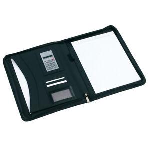 Professionelle-Aktenmappe-Businessmappe-Schreibmappe-aus-Kunstleder-A4-Format