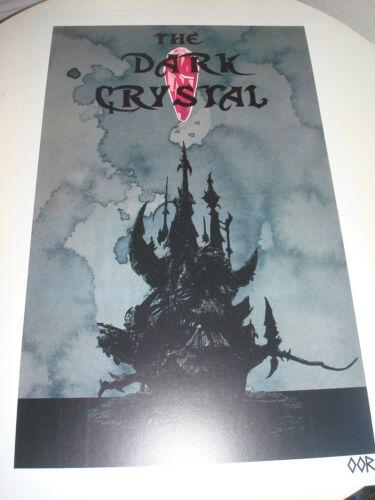 "The Dark Crystal 17/""x26/"" movie poster print"