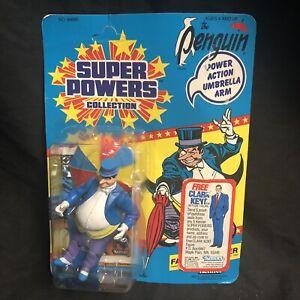 Super-Powers-Penguin-Unpunched-Kenner-Action-Figure-Vintage-Sealed-1985