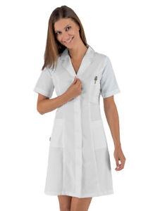 Valencia Female Woman Doctor Farmacista Isacco Mm White Camicie Slim Hdqwff