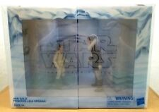 Star Wars The Black Series Hoth Princess Leia Organa and Han Solo 6-inch Action