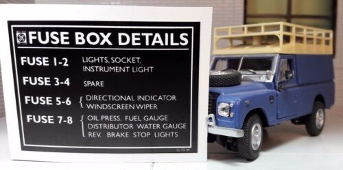 land rover 586187 ebay Club Car Fuse Box  Land Rover Series 4 Mazda Fuse Box Land Rover Series Interior