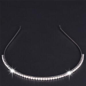 Crystal-Rhinestone-Headband-Hairband-Head-Wear-Elastic-Brightness-Accessories-AU