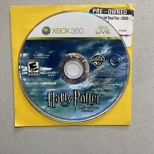 Harry Potter and the Half-Blood Prince Xbox 360 Disc Only Tested Working
