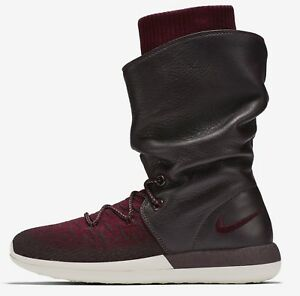 super popular d12b6 063e0 Image is loading Women-039-s-Nike-Roshe-Two-Hi-Flyknit-