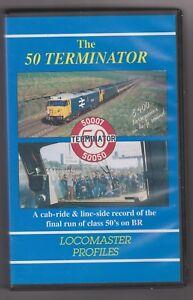The-50-Terminator-VHS-Railway-Video-Locomaster-Profiles-Class-50-Video