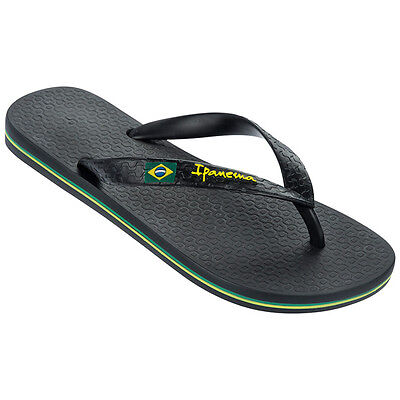 Ipanema Classic Brasil Ii Fem Zehentrenner Sandale Badelatschen Black 80408-8102 Komplette Artikelauswahl