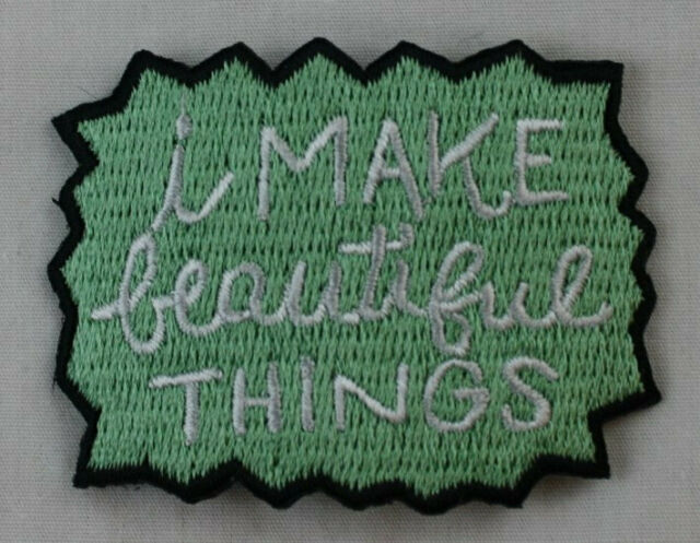 048-L I Hunt The Things That Go Bump In The Night Embroidered Iron On Patch