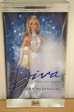 2002 Collector Edition Diva Collection GONE PLATINUM Barbie