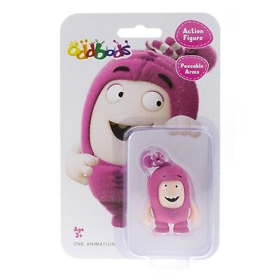 Oddbods Action Figure SLICK 4.5cm RARE NEW in Box Worldwide Shipping