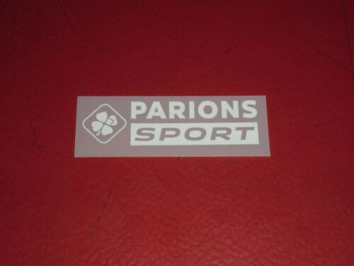 SPONSOR OFFICIEL PARIONS SPORT OM AWAY 2020//2021
