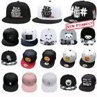 Fashion Men\'s Bboy Brim Adjustable Baseball Cap Snapback Hip-Hop Hat Unisex