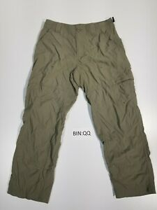 Columbia-Titanium-Packable-Women-039-s-Size-6-Nylon-Hiking-Cargo-Capris-Beige-QQ