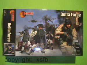 1-32-MARS-32011-Neuzeit-US-Delta-Force-Soldaten-Einsatzkommando-Wueste-Figuren