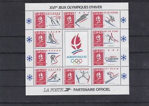 FRANCE-1992-JEUX-OLYMPIQUE-HIVER-ALBERTVILLE-BF-NEUF-YT-14