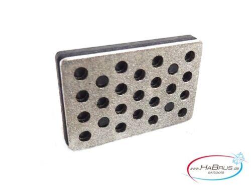 Habrus skitools Edge Trick Diamant Feilen Segment schwarz 30 mm Körnung 220