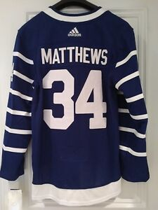 huge discount 3ac83 1cd57 Details about Toronto Arenas adidas Throwback Authentic Auston Matthews  Hockey Jersey 52 Large