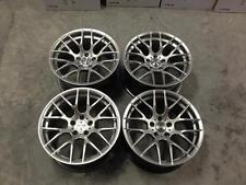 "18"" Avant Garde M359 Wheels Hyper Silver  BMW 1 3 Series E82 E87 F20 F21 E46 Z4"