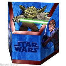 Star Wars Clone Wars Paper Treat Boxes Birthday Party Supplies free shipping