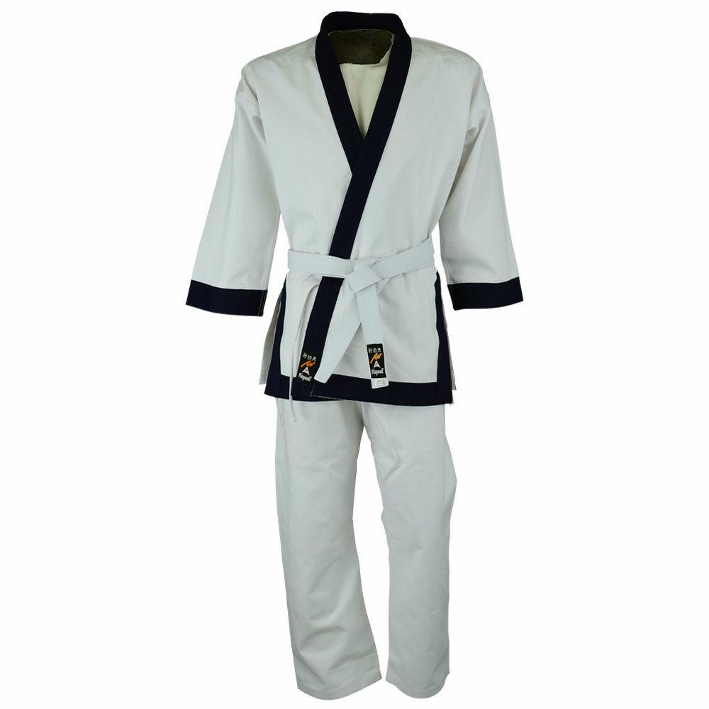 Playwell Karate 14oz Schwergewicht UniforSie Adult Suits Baumwolle Gi Outfit Kimono