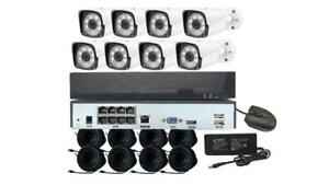 Startek 8 Cameras 3MP NVR Package, PoE, 1TB Free & Fast Shipping Toronto (GTA) Preview