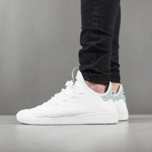 dettagli sulle scarpe da uomo sneaekrs pharrell williams adidas originali tennis hu - by8716]