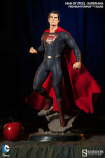 SIDESHOW SUPERMAN MAN OF STEEL PREMIUM FORMAT 1/4 SCALE STATUE FIGURE DC COMICS