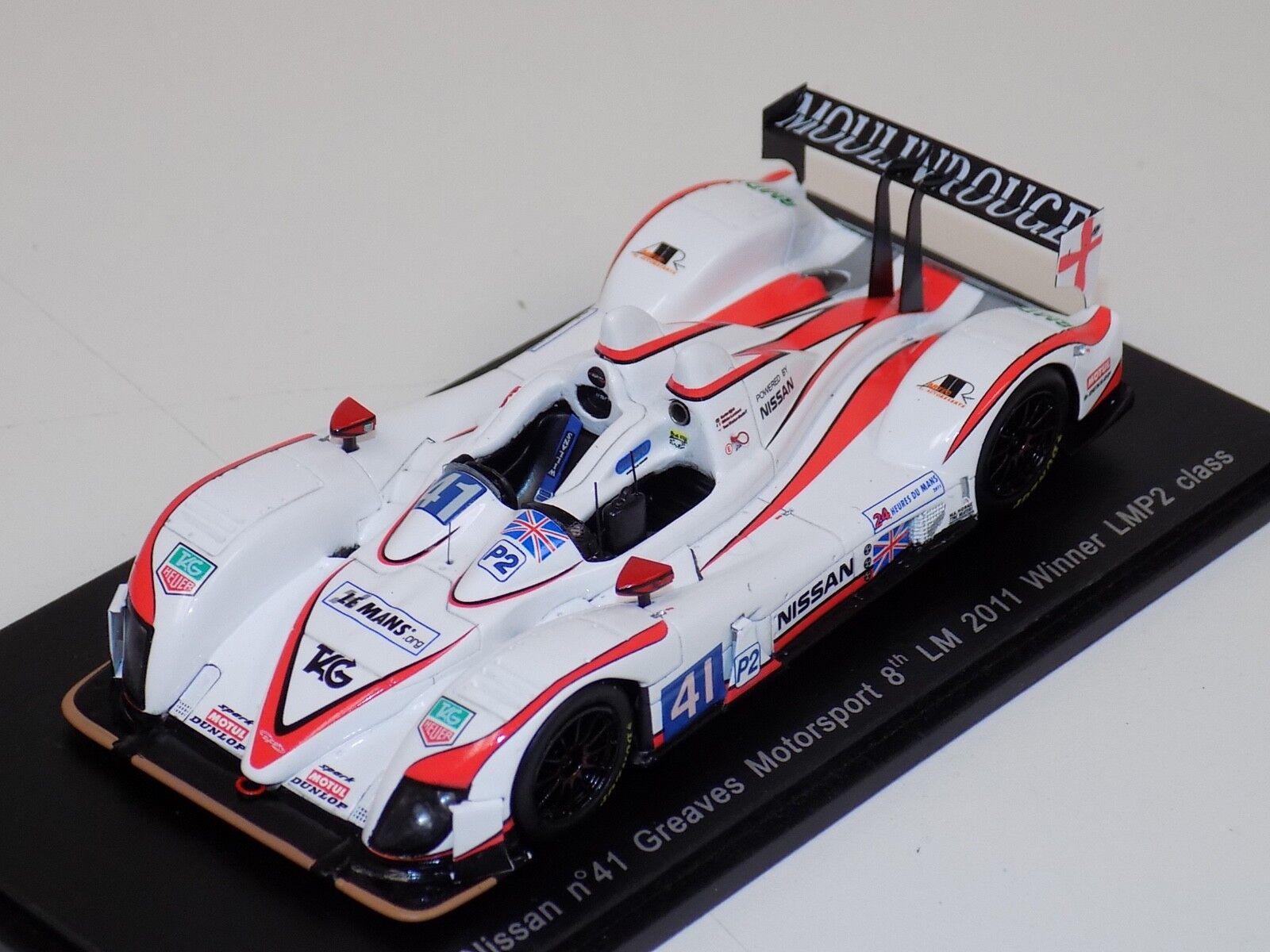 1  43 Spark Zytek NISSAN Bilvinnare LMP2 2011 24 H av Le Mans S2533