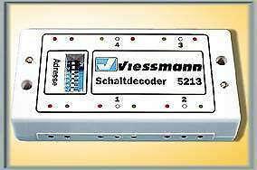Viessmann 5213 quadro quadro quadro decoder nuovo di fabbrica d3510d