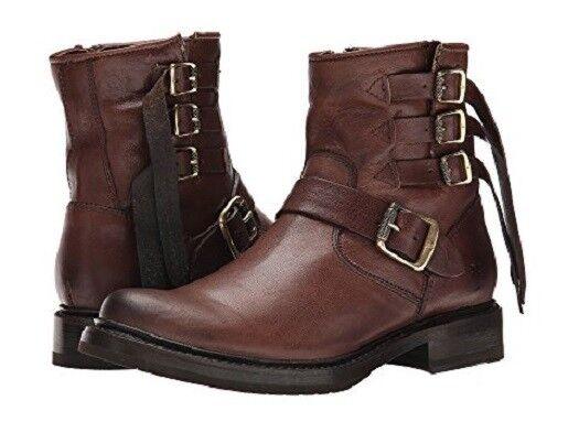 New in Box damen Frye Veronica Strap Short Stiefel Chocolate Chocolate Chocolate braun MSRP   428 04c931