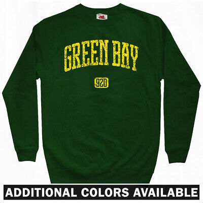 Go All Out Adult City of Green Bay Wisconsin Football Sweatshirt Crewneck