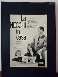 Pubblicita-originale-NECCHI-anni-039-50-rifilatura-da-rivista-in-passepartout