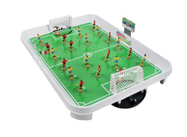 Mini Kicker Fussballtisch Fussballspiel Kickertisch Fußball 22 Spieler #1499