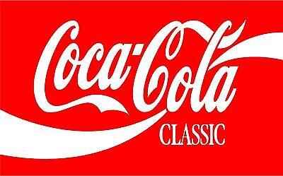 "Coca-Cola Coke Sign pop machine vinyl sticker graphic Wrap Skin 30/""x 18.5/"""