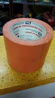 Pack Of 2 Warning Tape Tuk Color Orange 2 × 108 Ft