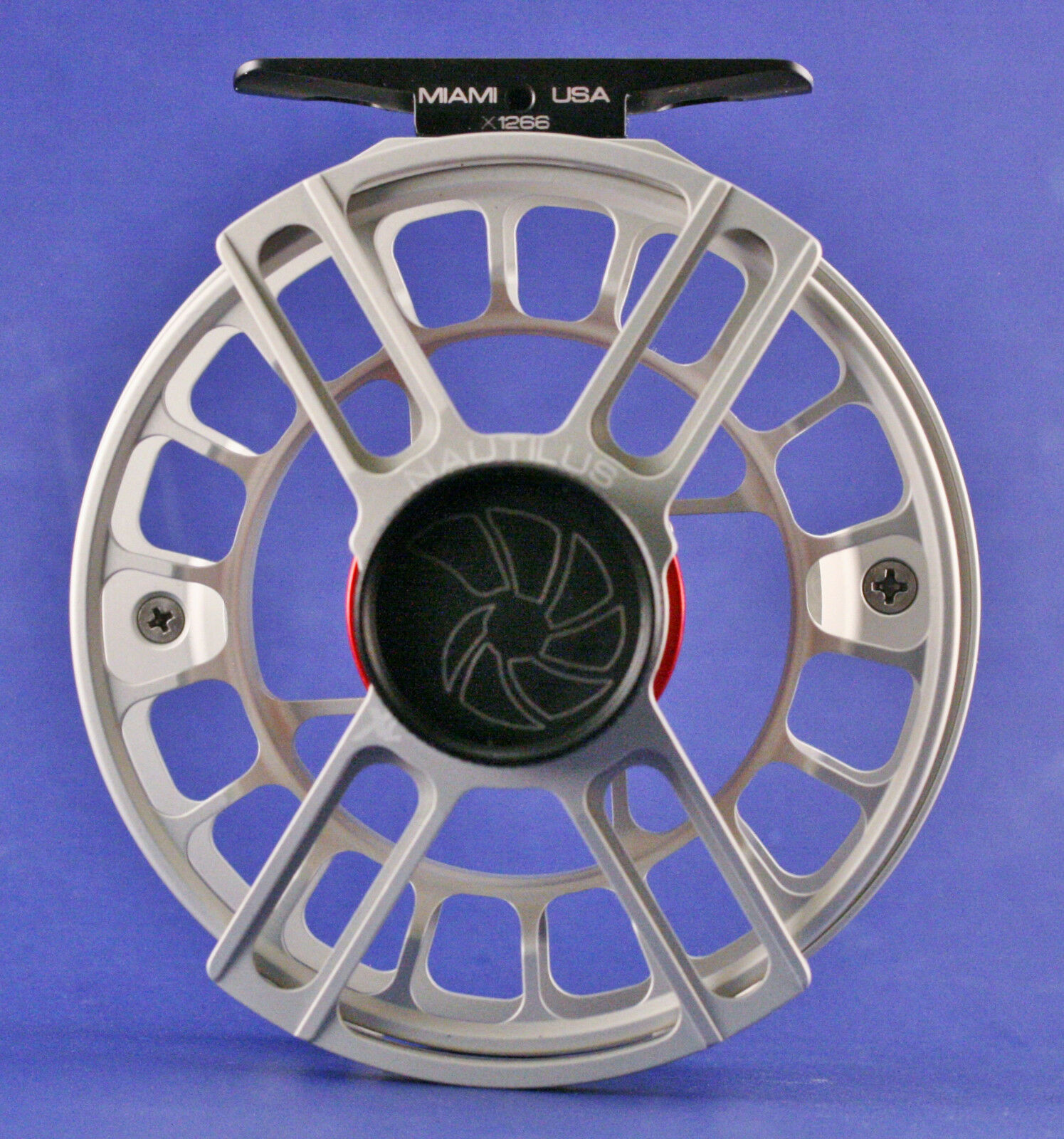 Nautilus X-Series XL (6-7) Fly Reel Brushed Titanium NEW FREE SHIPPING