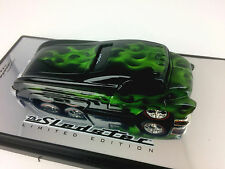 Custom Crew Black w/Green Flames Sledster II Drag Bus (Custom Paint)