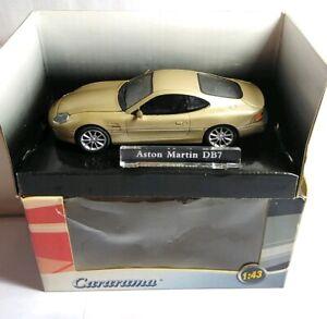 Cararama-1-43-escala-Diecast-aston-martin-DB7-Gold-230D