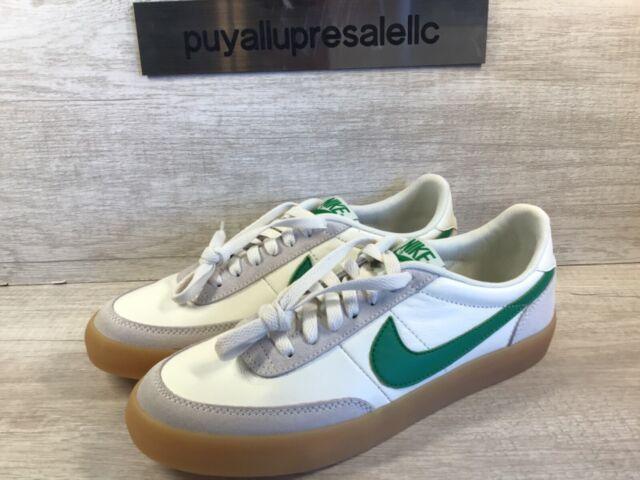 Men's Nike Killshot 2 Leather 'J Crew' Sail/Lucid Green 432997-111 Size 7