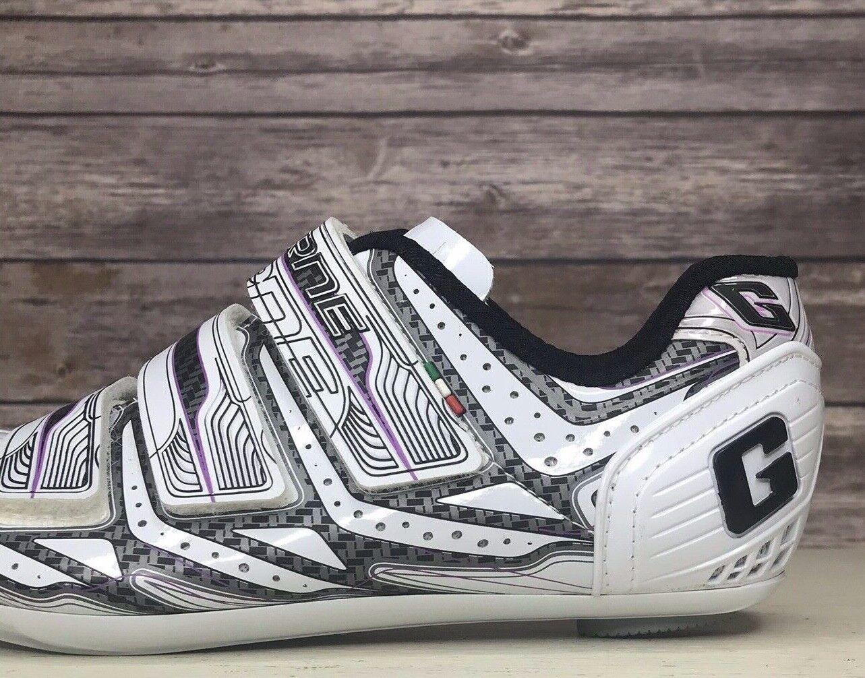 Gaerne G.Aktion Bianca Road Cycling scarpe Wouomo Dimensione 6.5EU 37 NEW