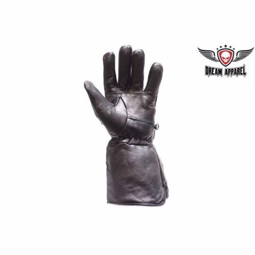 BIKER Motorcycle Long Summer Gauntlet Glove With  Strap GL2052