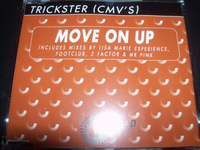 Trickster (CMV's) – Move On Up Australian Remixes CD Single – Like New