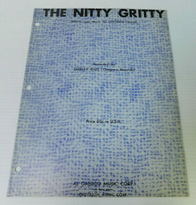 The-Nitty-Gritty-Shirley-Ellis-Lincoln-Chase-Sheet-Music-4-pages-1963