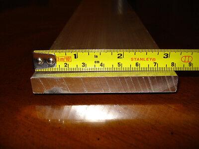 ALUMINIUM FLAT BAR  -  80mm x 10mm - 104mm LONG -  NEW
