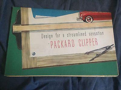 1941 Packard Clipper Color Brochure Catalog Prospekt
