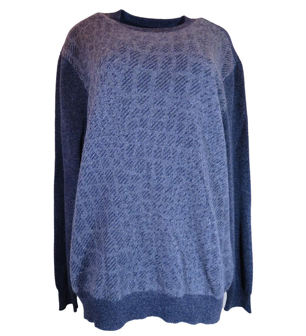 295 Hart Schaffner Marx Cashmere Long-Sleeve Sweater, Größe-XL