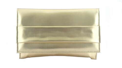 Italy Made Gold Pouchette Art38 In USVGqzMp